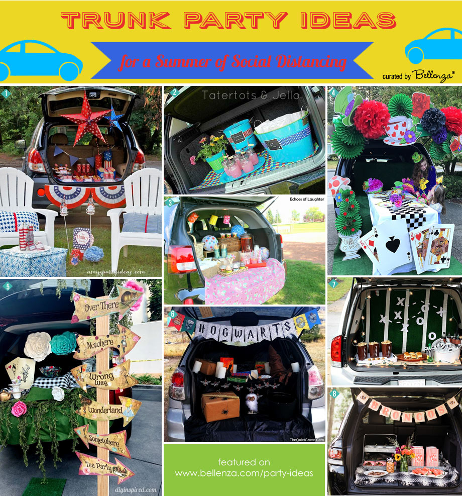 Trunk Party Ideas from Picnics to Tea Parties