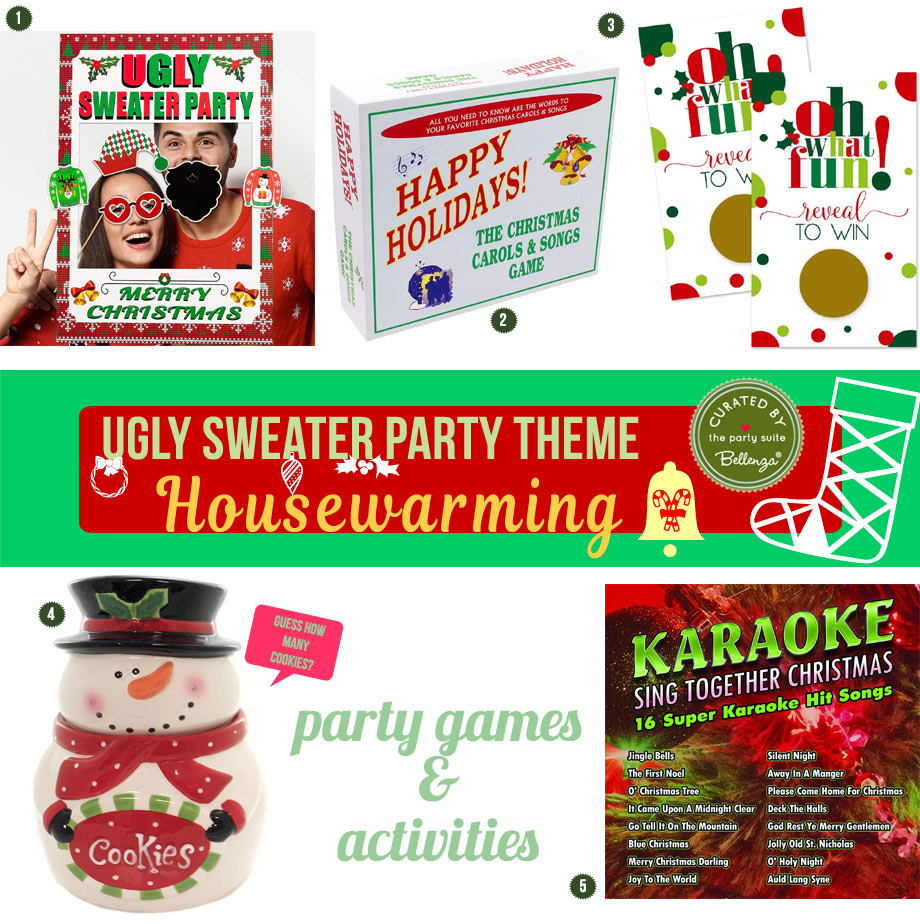 Ugly sweater party games and activities