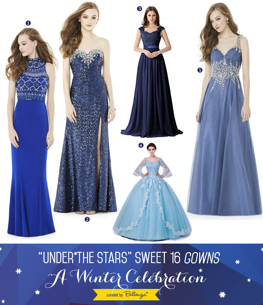 Under the stars sweet 16 dresses: attire approved by Mom!