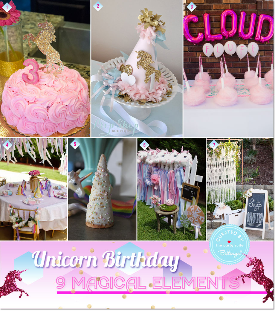Unicorn Party Ideas--Decorations, Treats and Games