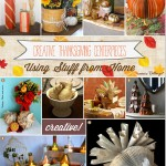 Upcycled Thankgiving Decorations That are DIY