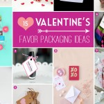 Stylish Valentine's Day Printables for Homemade Favors