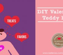 Valentine's teddy bear crafts to treats