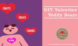 Valentine's teddy bear crafts to treats