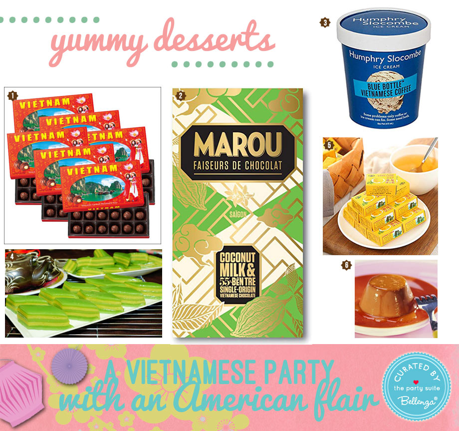 Vietnamese desserts and party sweets