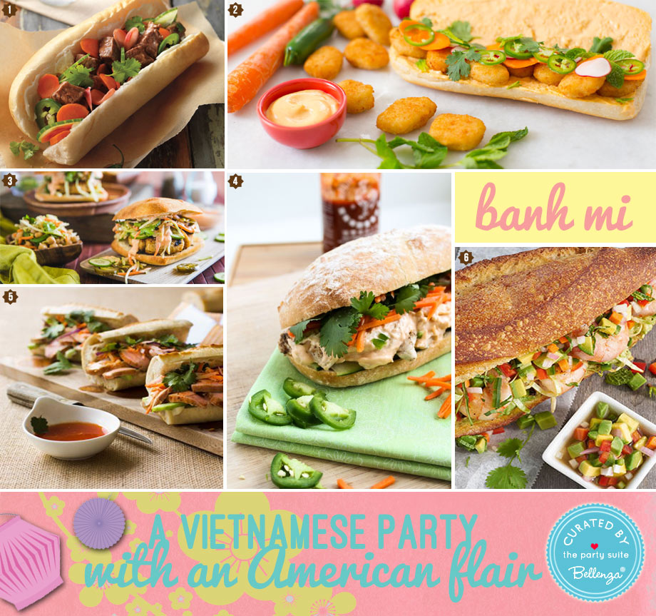 Banh mi party ideas