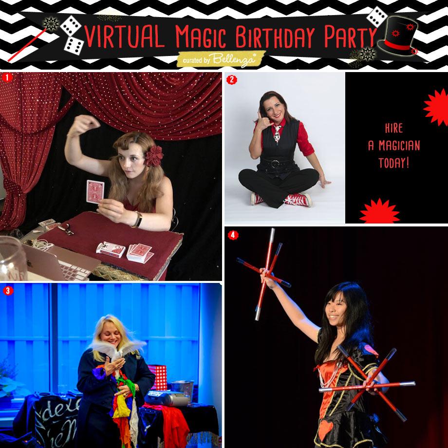 Virtual Lady Magicians