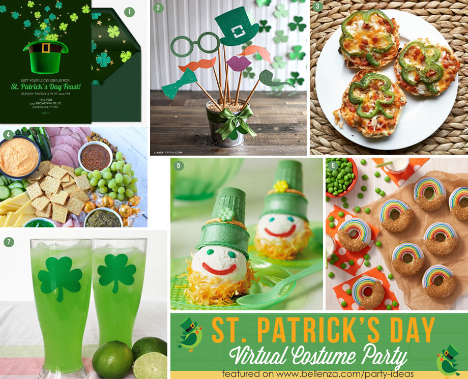 Virtual St. Paddy's Party Ideas