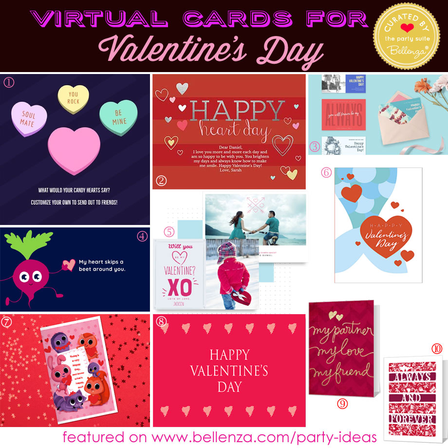 Virtual Cards for Valentine's Day with Free Online Tools