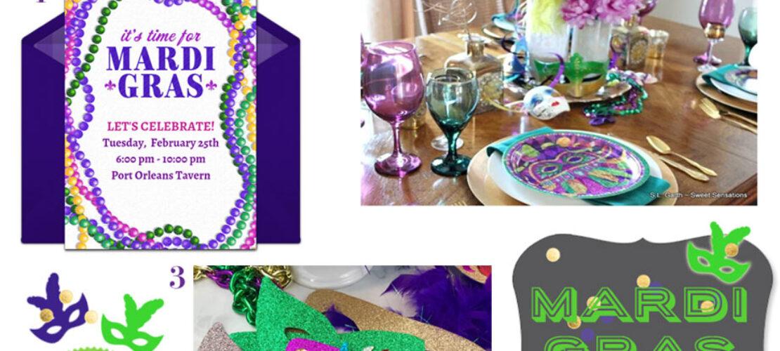 Virtual Mardi Gras party