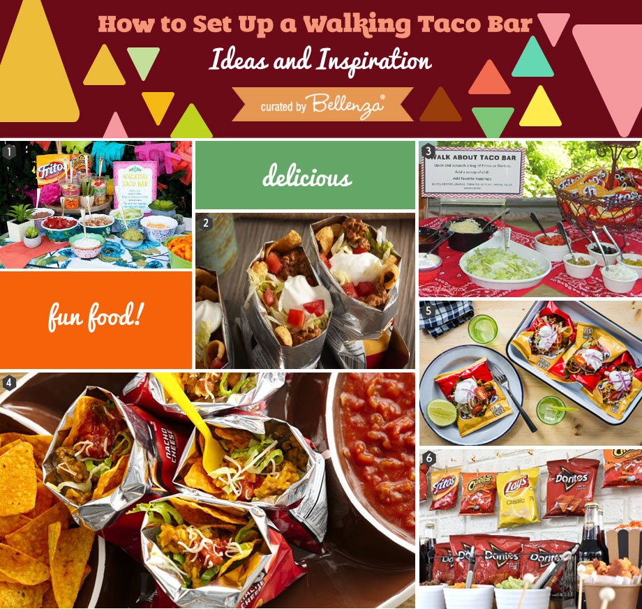 Easy Walking Taco Bar Ideas and Inspiration
