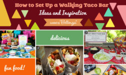 Easy Walking Taco Bar
