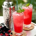 Wild Berry Mojito. Photo by Cooking Channel TV.