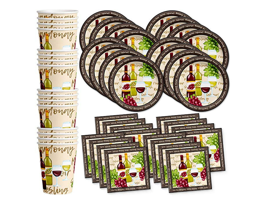 wine and cheese party supplies