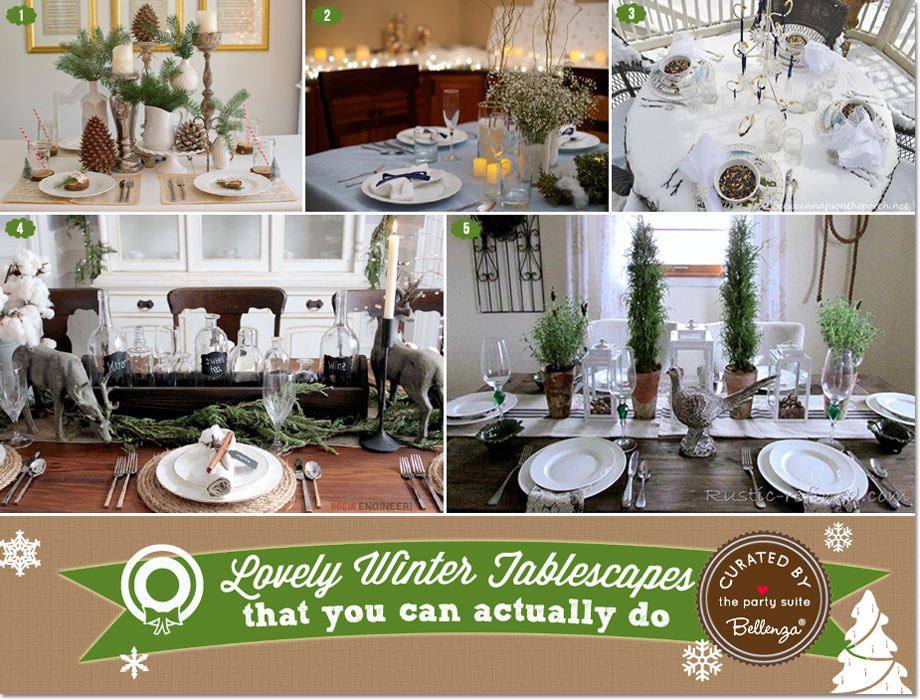 10 Winter Wedding Tablescapes that You Can Actually Do