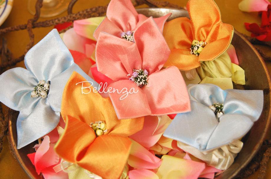 Lusetalleante Mini Jordan Almond Favor Bags Set Of 3