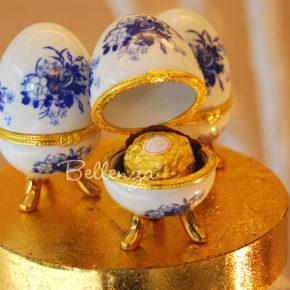 Azuevo Limoges-style Porcelain Box Favors (set of 6)