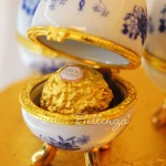 Azuevo Limoges-style Porcelain Box Favors (set of 6)
