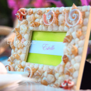 Cescaleña Seashell Place Card Frame