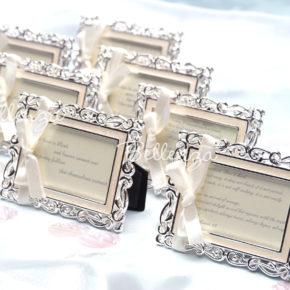 Bianna Enamel Place Card Frames (set of 5)
