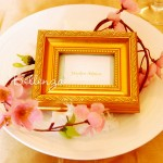 Marcoro Mini Gold Place Frames