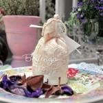 Saphia Mini Favor Pouches with Embroidery (set of 4)