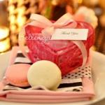 Charisse Heart Cookie Favor Boxes