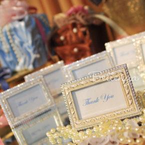 Frelerina Enamel Photo Frame Favors (set of 5)
