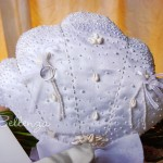 Marina Sivenni Seashell-inspired Ring Pillow