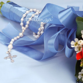 Majorella Pearl Rosary Wedding Keepsake