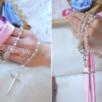 Sterling Silver Rosebud Prayer Rosary