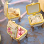 Emélie Footed Porcelain Favor Box (set of 6)