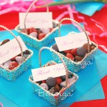 La Dolce Vita Mini Silver Favor Basket (set of 5)