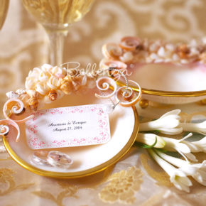 Vamelour Seashell Soap Dish Favors (set of 2)