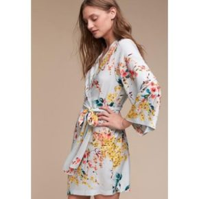Floral Robe in Rayon