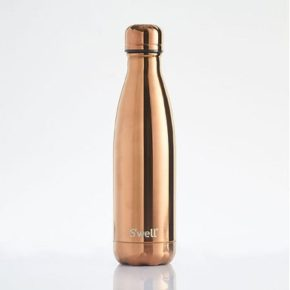 Rose Gold Metallic Water Bottle