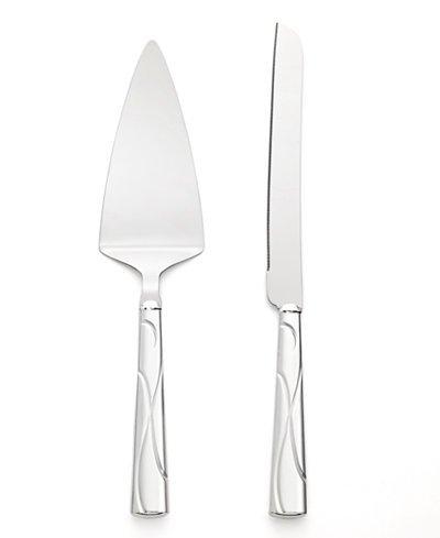 Adorn Cake Knife & Server