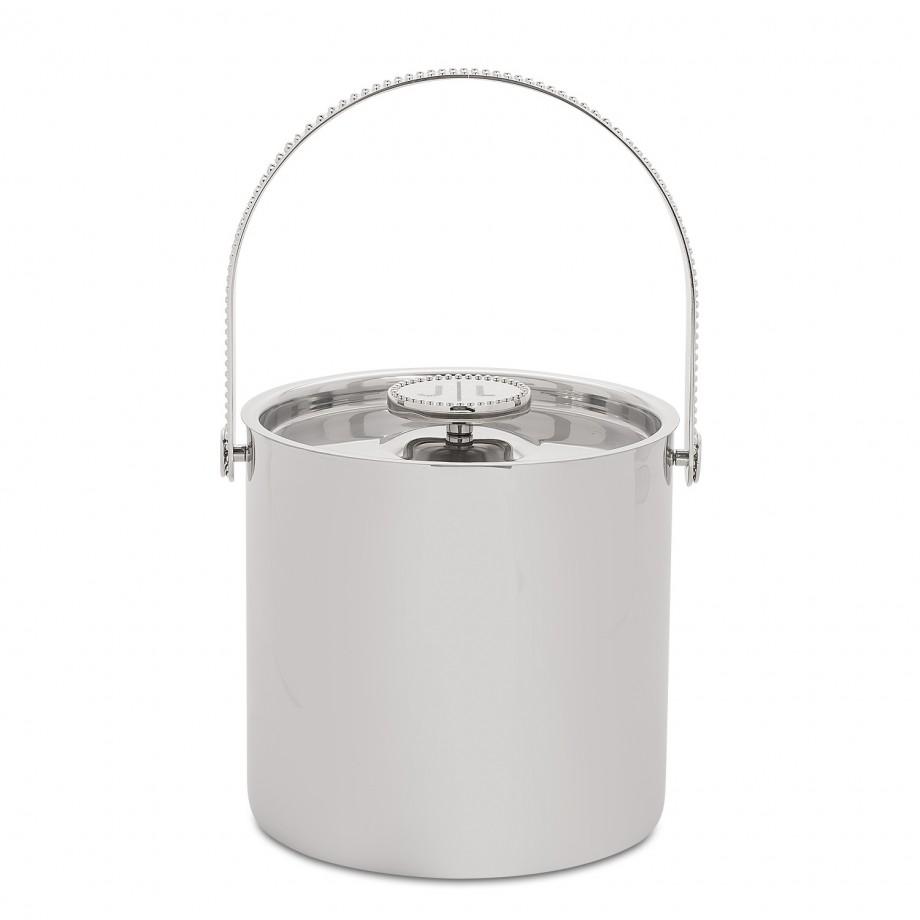 Personalized wine bucket.