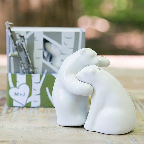 Ceramic Bear-shaped Salt and Pepper Shaker Set
