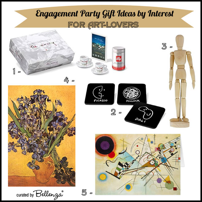 Engagement Party Gift Ideas by Interest - for Art Lovers