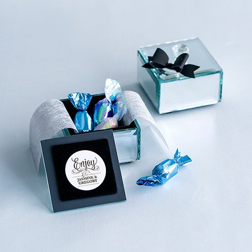 Mirrored Keepsake Box (small)