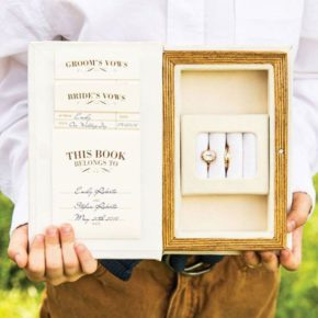 A Promise Made Vintage-Inspired Jewelry Book Box