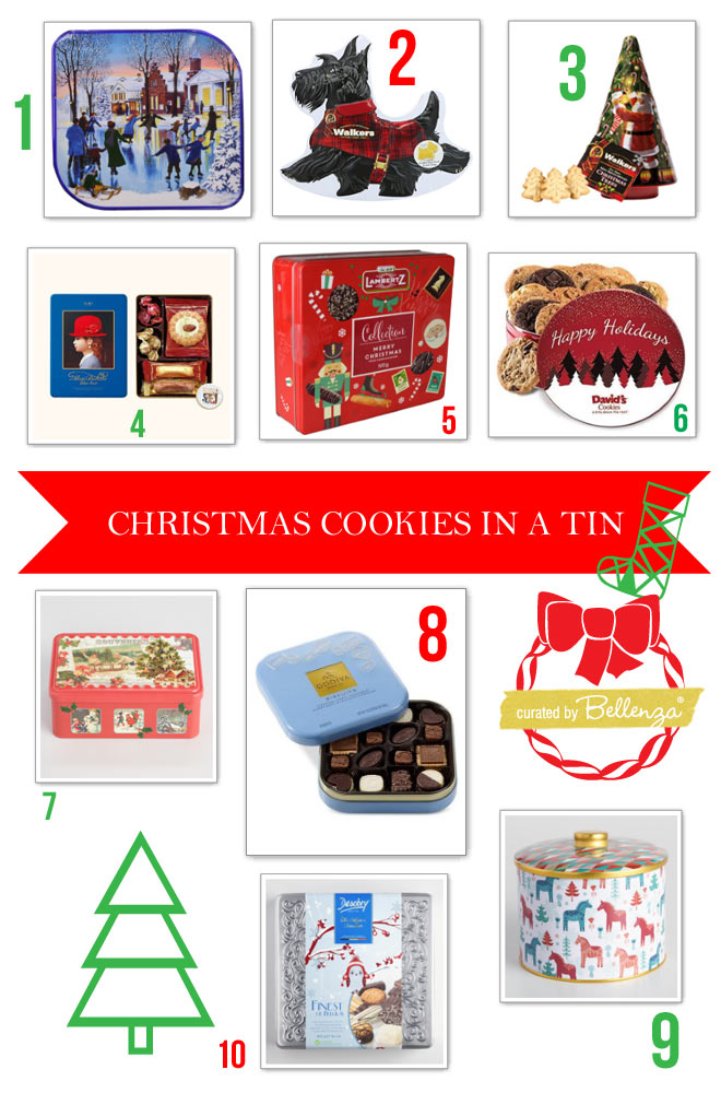 10 Christmas Cookies in a Tin: Holiday Hostess Gifts! -The ...