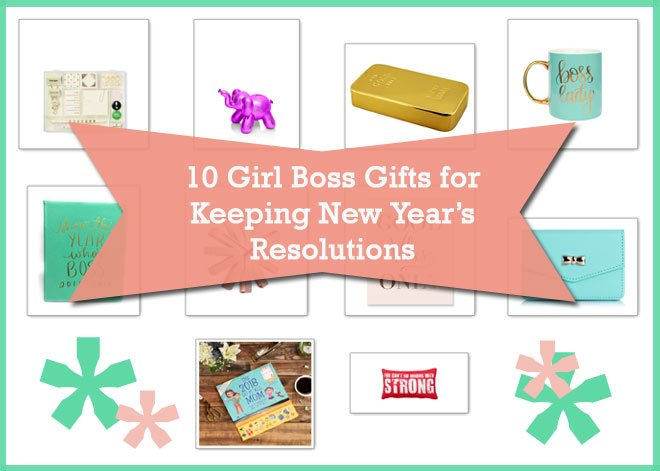 10 Girl Boss Gifts for Keeping New Year's Resolutions