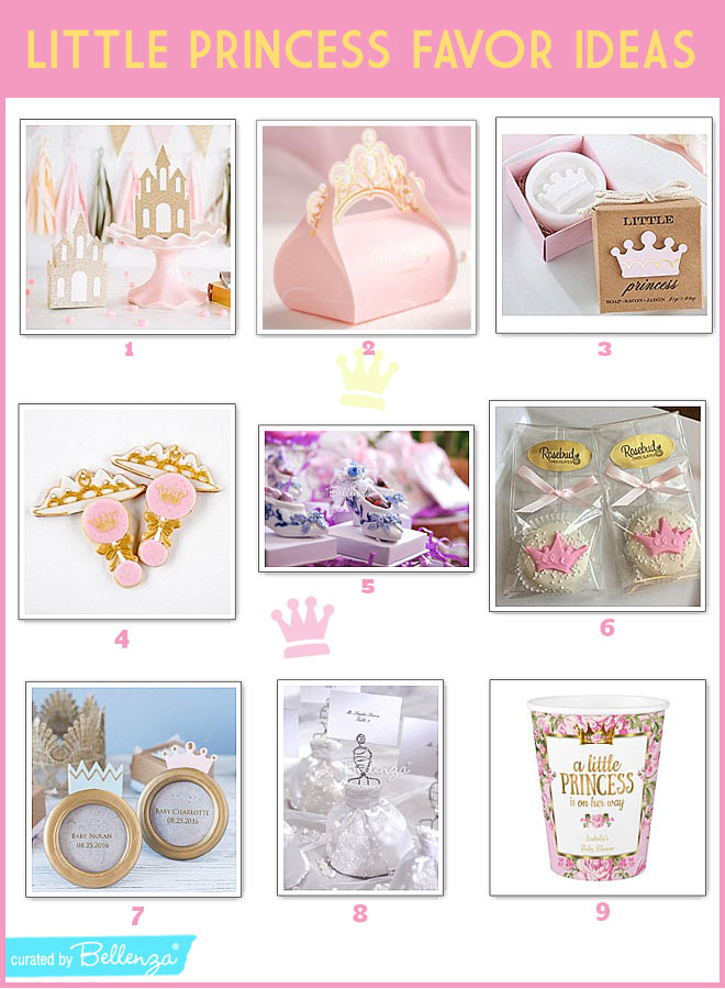 9 Elegant Princess Party Favor Ideas