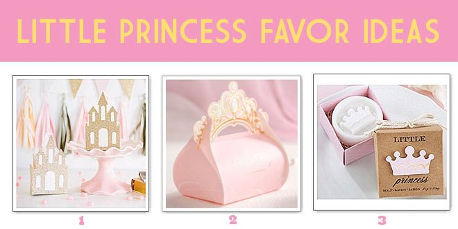 Little Princess Baby Shower Theme: Favor Ideas for a Royal Celebration from Princess Shoe Favors to Soaps