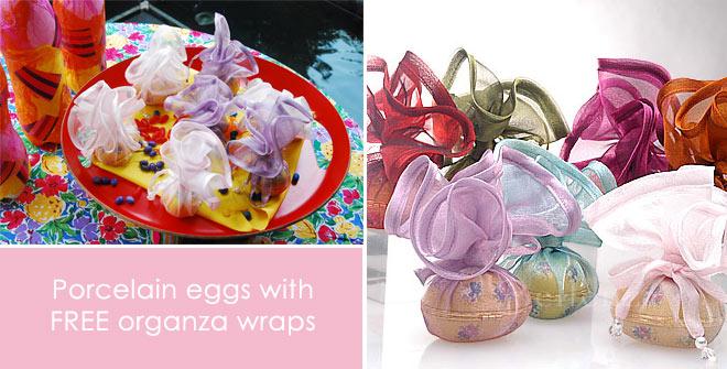 Eggs with wraps