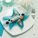 Whimsical Starfish Glass Favor Dish