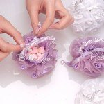 Sofearella Purple Favor Pouches (Set of 3)