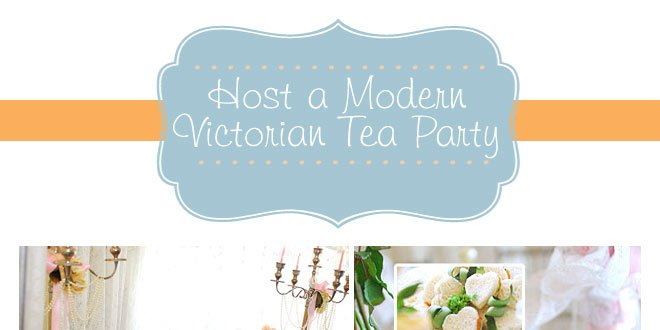 Modern Victorian tea party